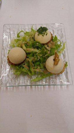 Thann, Francia: Boules de glace aux fromages