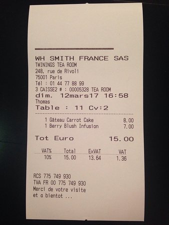 Photo of Restaurant WHSmith at 248 Rue De Rivoli, Paris 75001, France