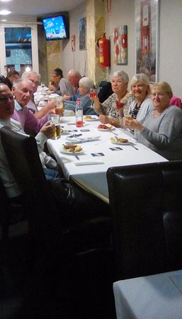 Gran Alacant, Spain: Birthday meal at good view