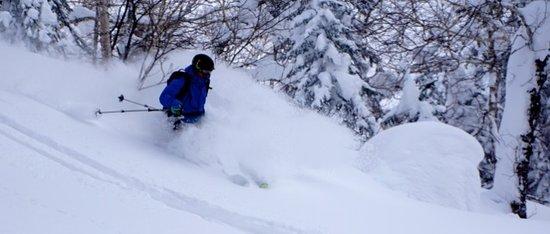Hidaka-cho, Japan: Skiing Asahidake_3