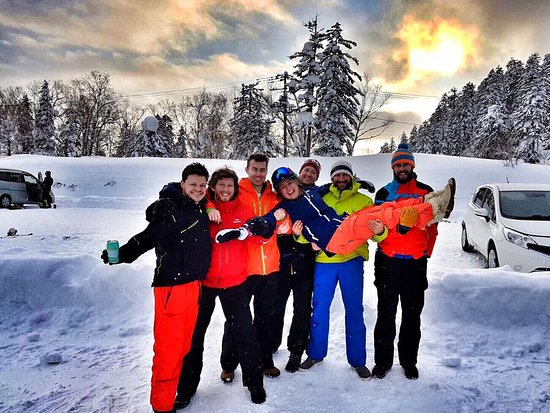 Hidaka-cho, Japan: Skiing Asahidake_5