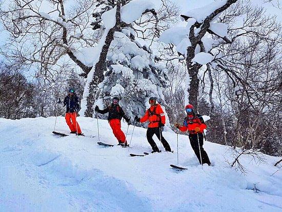 Hidaka-cho, Japan: Skiing Asahidake_4