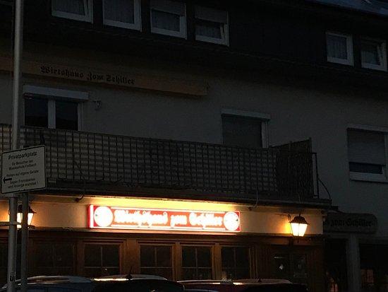 """Fellbach """"Zum Schiller"""" von Außen"""