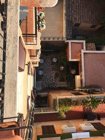 Hotel Modigliani: The best view in Rome ! Amazing honeymoon .. amazing view .. amazing loved the balcony ..