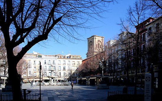 Photo of Monument / Landmark Plaza Bib-Rambla at Plaza De Bib Rambla, Granada 18001, Spain