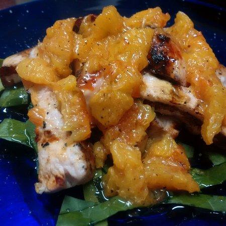 Calvi dell'Umbria, Italy: Tagliata di pollo all' arancia