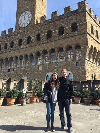 Florence Custom Tours: Nice photo of my daughter (Anna) and myself