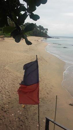 Diamond Cliff beach: Spiaggia