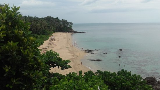 Diamond Cliff beach: Spiaggia dall?alto