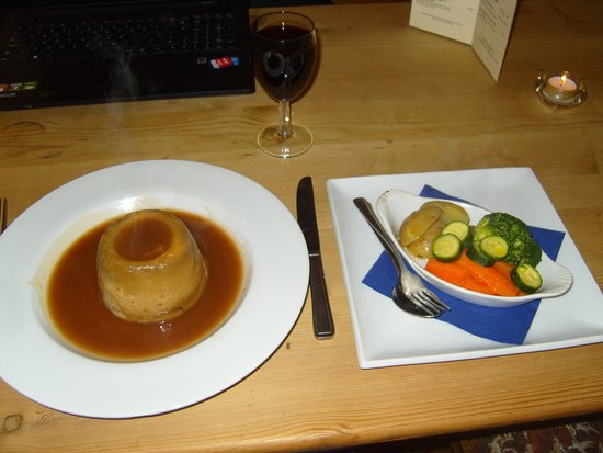 The Steak-and-Kidney Pudding served up at the Bridge Inn, Amberley, was nothing short of perfect