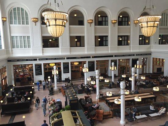 Crawford Hotel Lobby Train Station Picture Of The Crawford Hotel Denver Tripadvisor