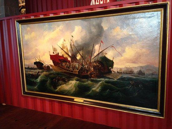 Museu Marítim: У Испанцев, понятно, свои художники-маринисты имеются.