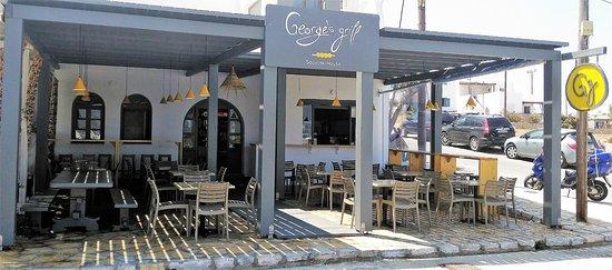 Antiparos Town, Grecia: George's grill