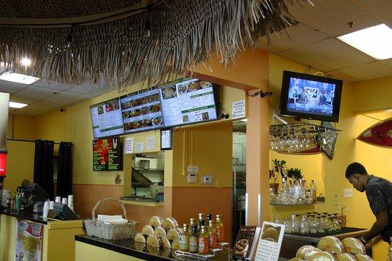 inside view Maui Tacos Napili January 2017