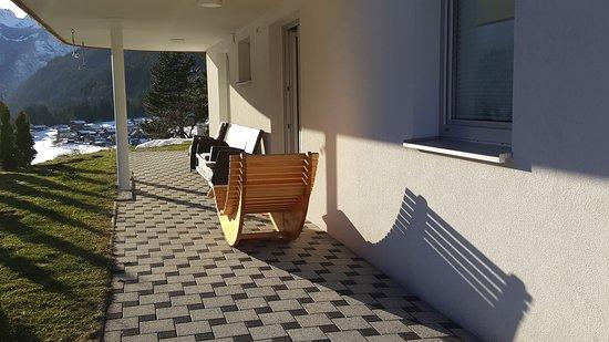 Wald am Arlberg, Österreich: Meine Terrasse