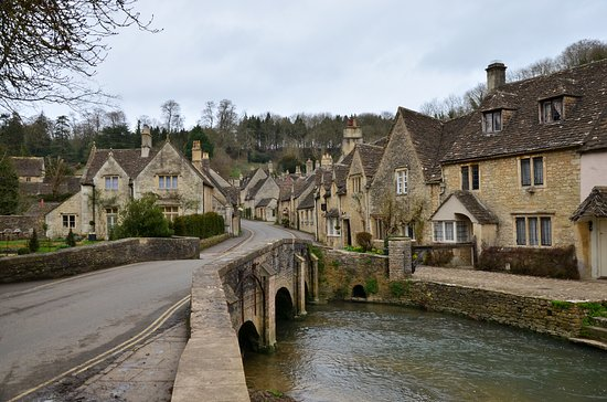 Castle Combe, UK: calles