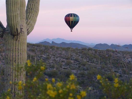 Fleur de Tucson Hot Air Balloon Rides : March 12, 2017 Amazing ride!