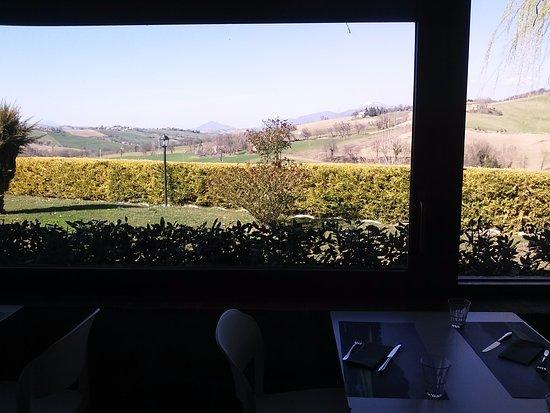 Camerino, Italia: Panorama dalla veranda