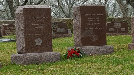 Stonewall, TX: LBJ and Lady Bird Graves at the LBJ Ranch
