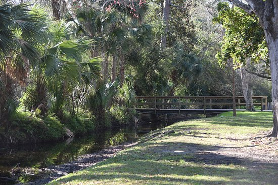 Atlantic Beach, FL: Howell Park - Foot bridge
