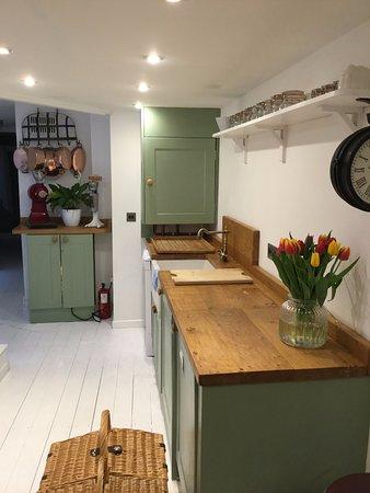HIX Townhouse: Fresh tulips on display