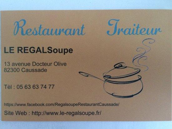 Caussade, France: Pour reserver...