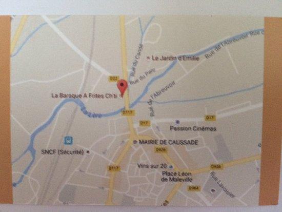 Caussade, France: Pour s 'y rendre...