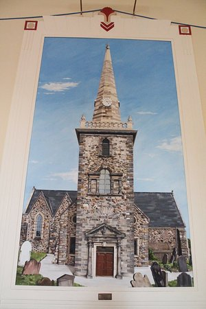 Carrickfergus, UK: Painting in the town hall