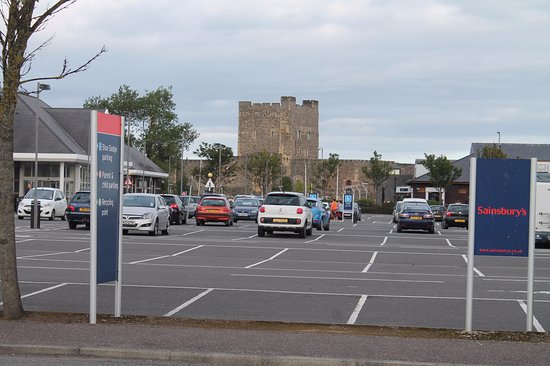 Carrickfergus, UK: From Sainsburys