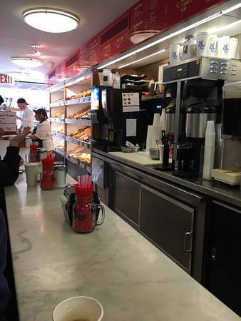 Photo of American Restaurant Donut Pub at 203 W 14th St, New York, NY 10011, United States
