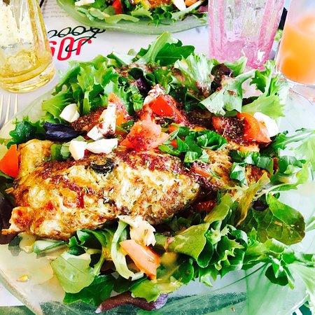Biot, France: Omelette provençale