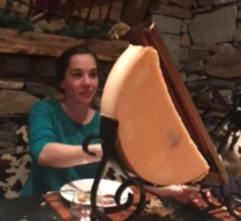 La Bergerie: Woman versus cheese 😉