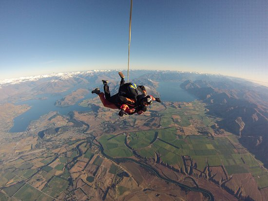 Skydive Wanaka: Unbelievable scenery!