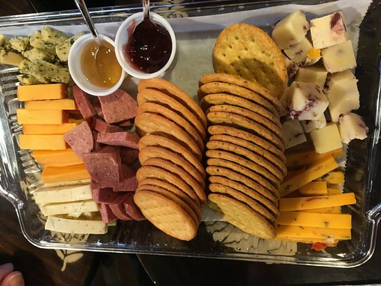 Milton, WI: Cheese Tray
