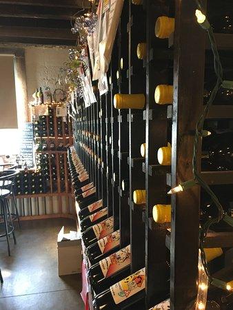 Milton, WI: Wine rack