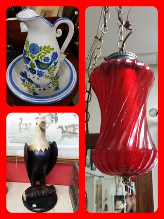 Hallowell, ME: We have a huge inventory of ever changing antiques at reasonable prices!