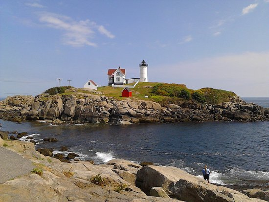 Cape Neddick Nubble Lighthouse: What calendars are made of!