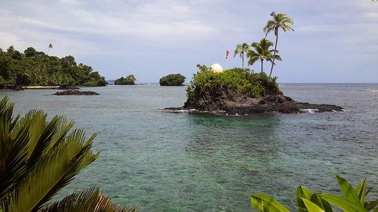 Upolu, Samoa: Islets around the resort