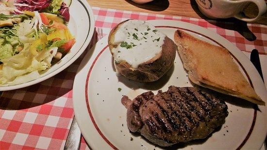 steak a kouření den