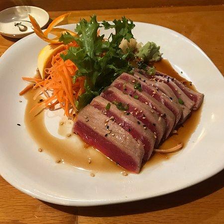 Thaicoon and Sushi Bar: Tuna Tataki at Thaicoon & Sushi Bar