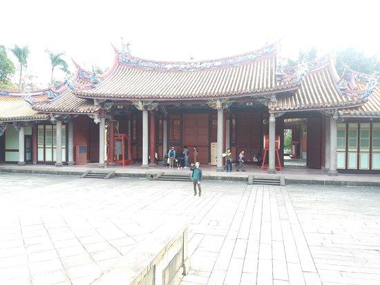 Templo de Confucio en Taipéi: Templo
