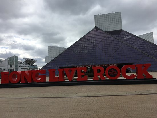 Rock & Roll Hall of Fame: out front...