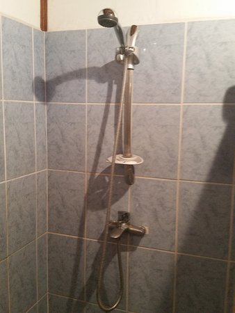 Manzanillo, Costa Rica: Lovely showerhead with great water pressure