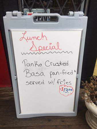 Lunch Special, Panko Basa, Beach House Cafe, 2775 Island Hwy, Qualicum Beach,