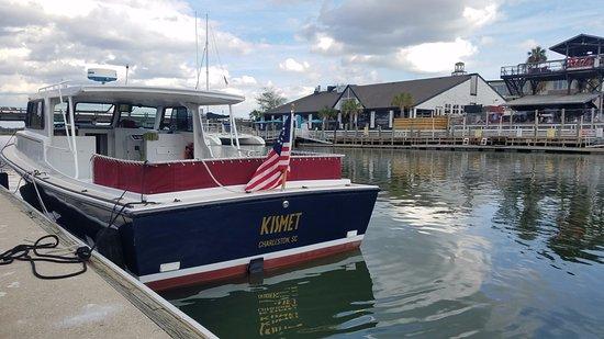 Charleston Sailing Private Day Charters : Kismet at Shem Creek