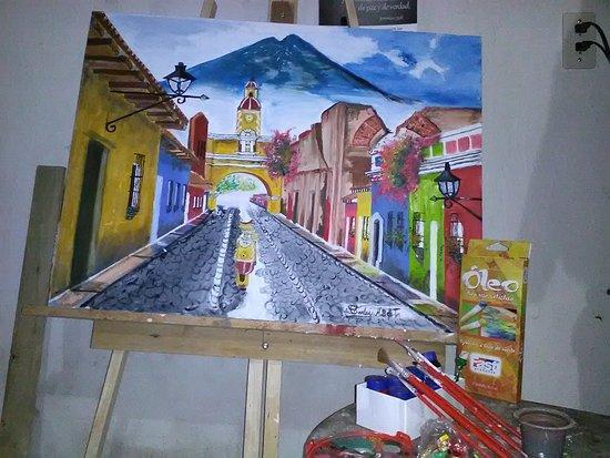 Central Falls, โรดไอแลนด์: Antigua Guatemala