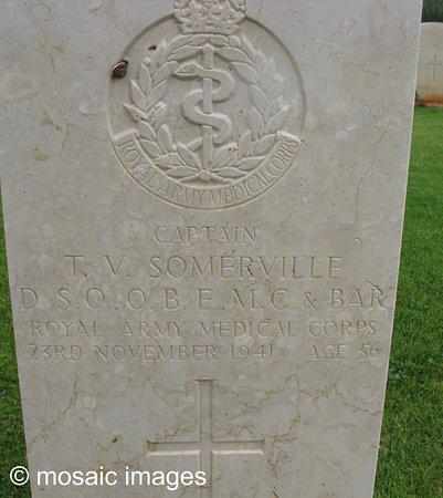 Captain Somerville-- Souda Bay CRETE