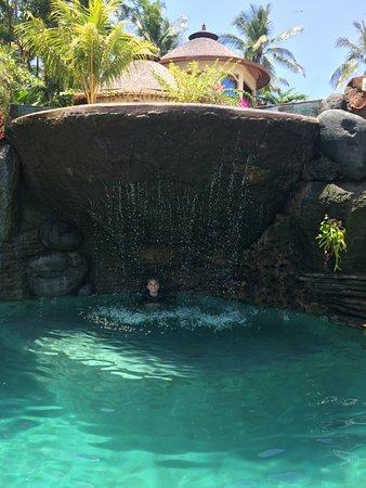 Pekutatan, Indonesia: The lower part of the new pool.