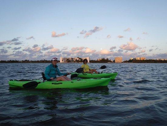 Kayak tour on Snook Islands, Lake Worth