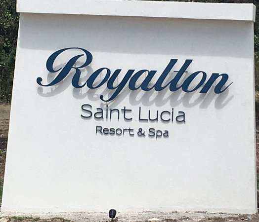 Cap Estate, St. Lucia: Sign out front